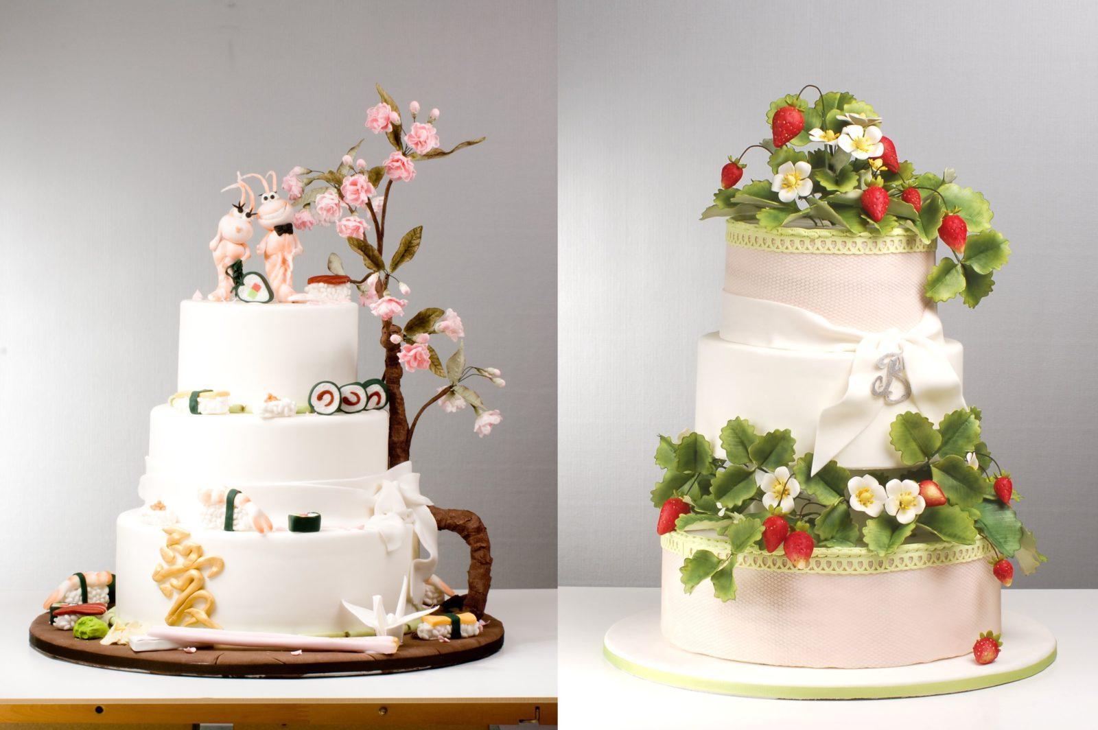 Individuelle Hochzeitstorten by Betty´s sugardreams
