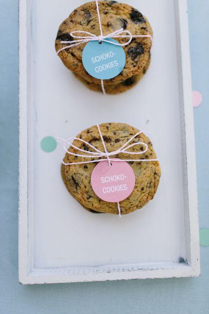 Sweet Candy Table Confetti Schokoladencookies