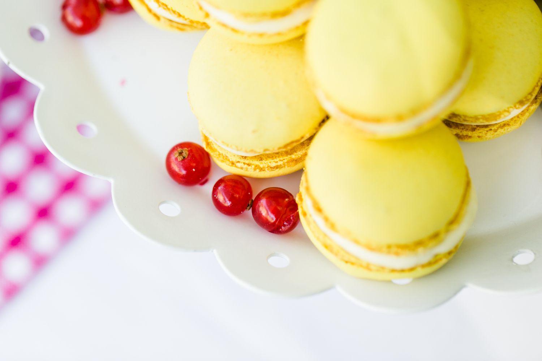 Zitronen Macarons @suess-und-salzig