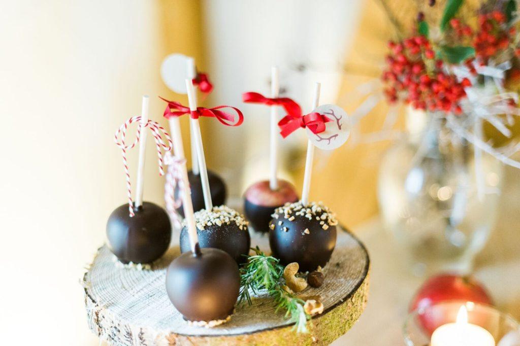 Schokoladenäpfel_winterhochzeit