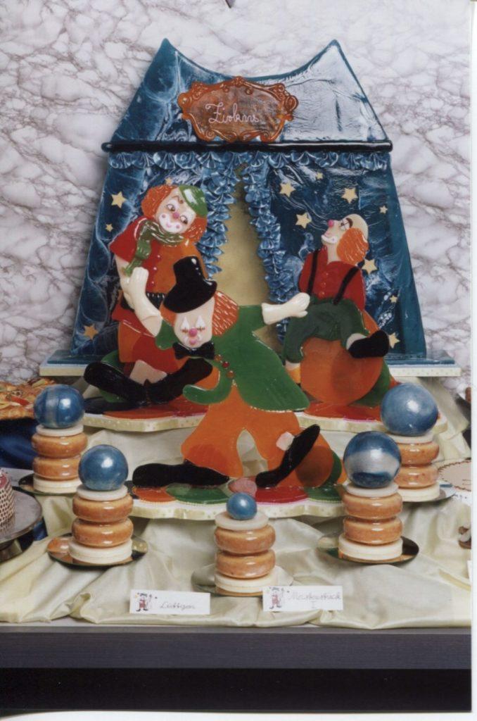 Meisterklasse_Konditoren_Handwerk_Kurs 1995/1996_Dessert