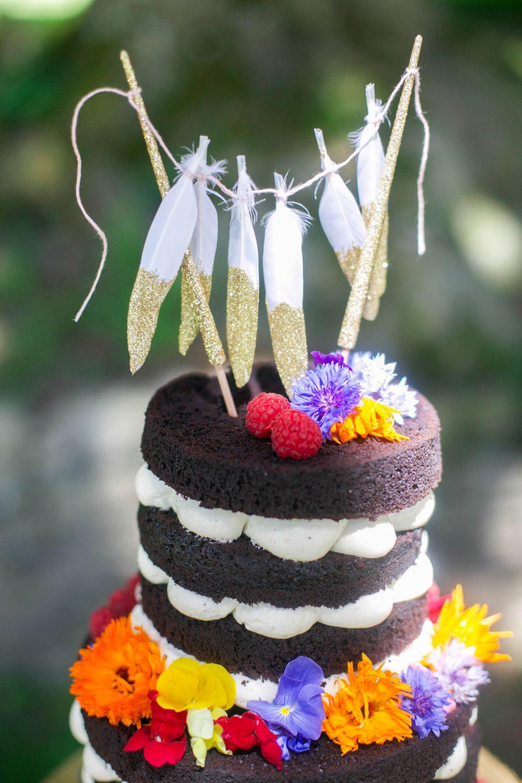 boehemian wedding cakes