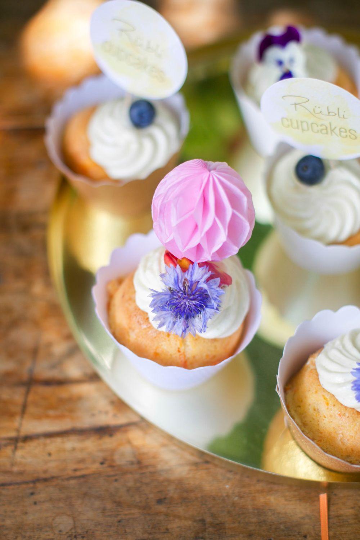 cupcakes hochzeit fruchtig deko