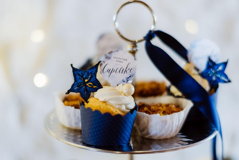 cupcakes blau