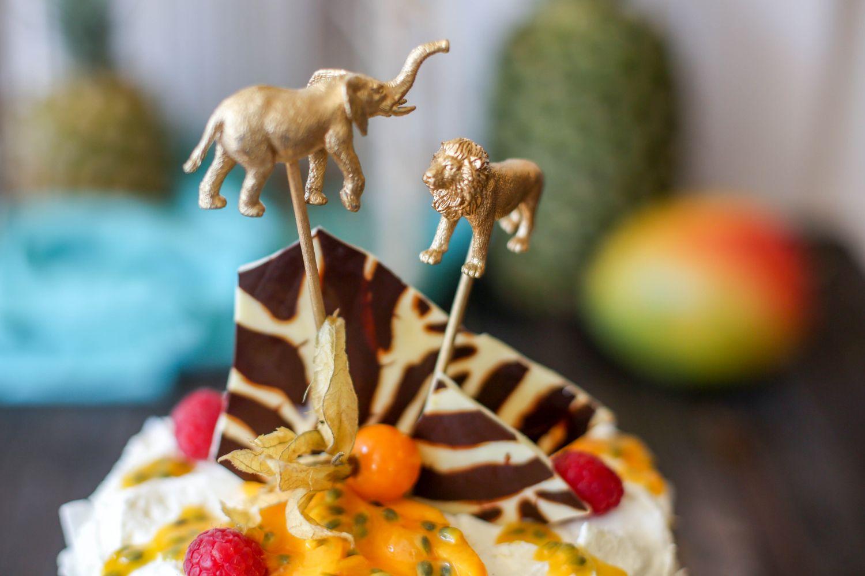 wildlife torte foodstyling