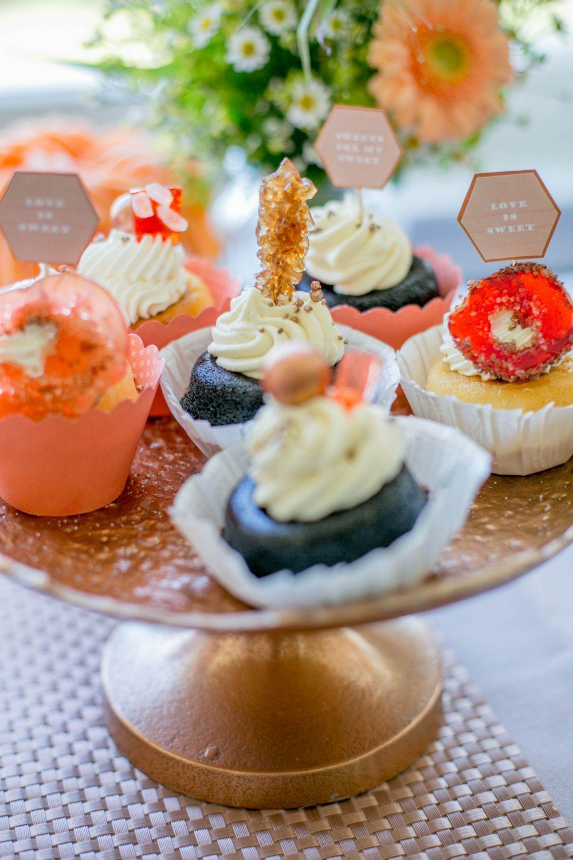 cupcakes geode zuckerkristalle