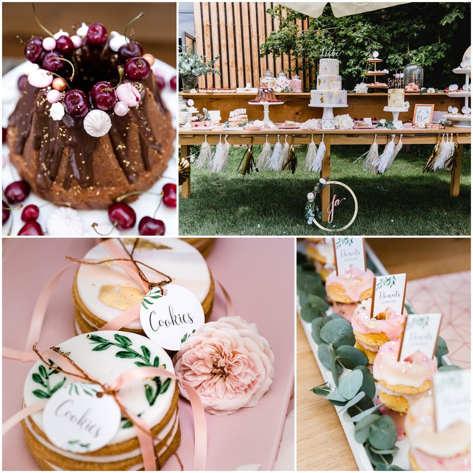 Sweet Candy Table Hochzeitstorte eissler stei