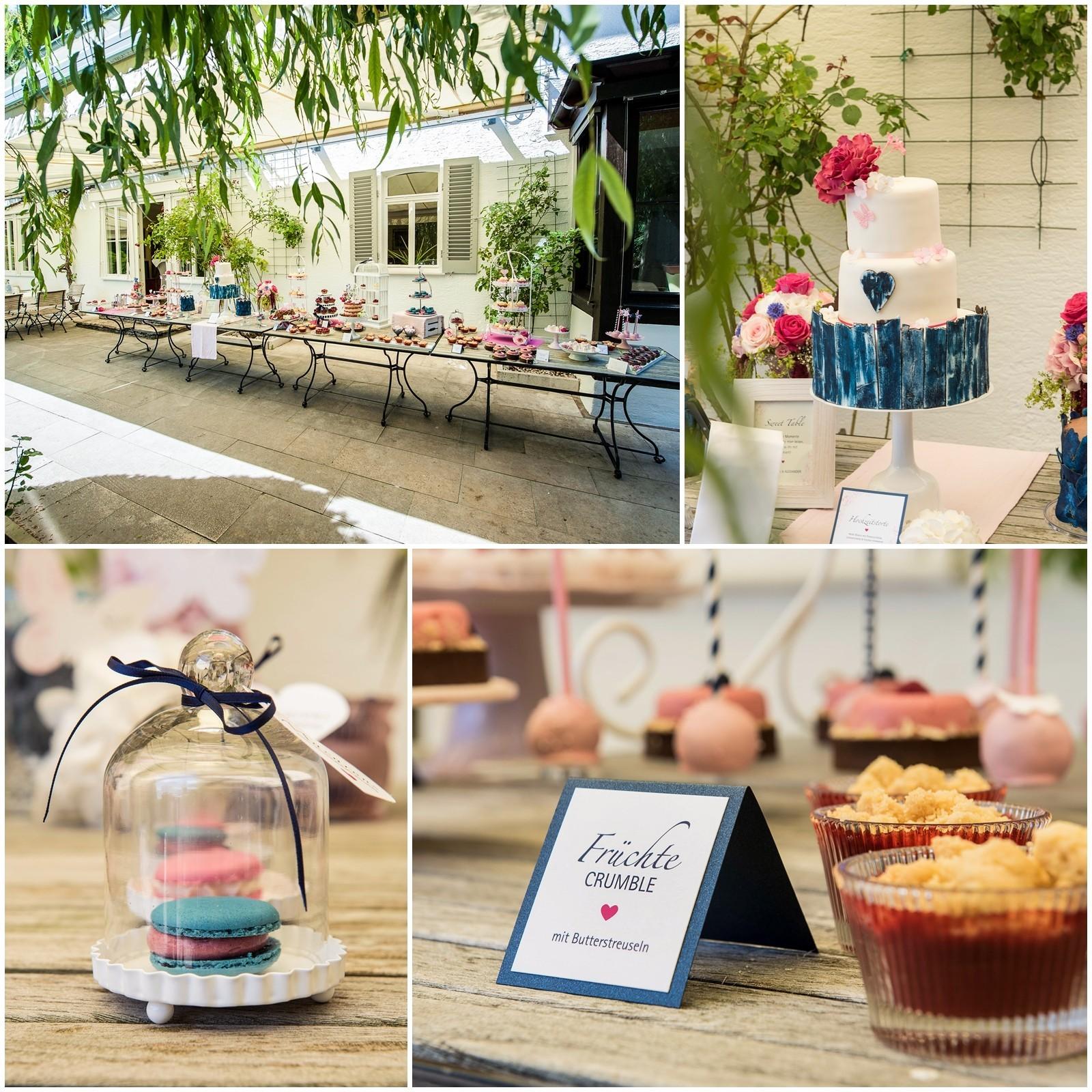 Sweet Candy Table Hochzeitstorte weinstadt