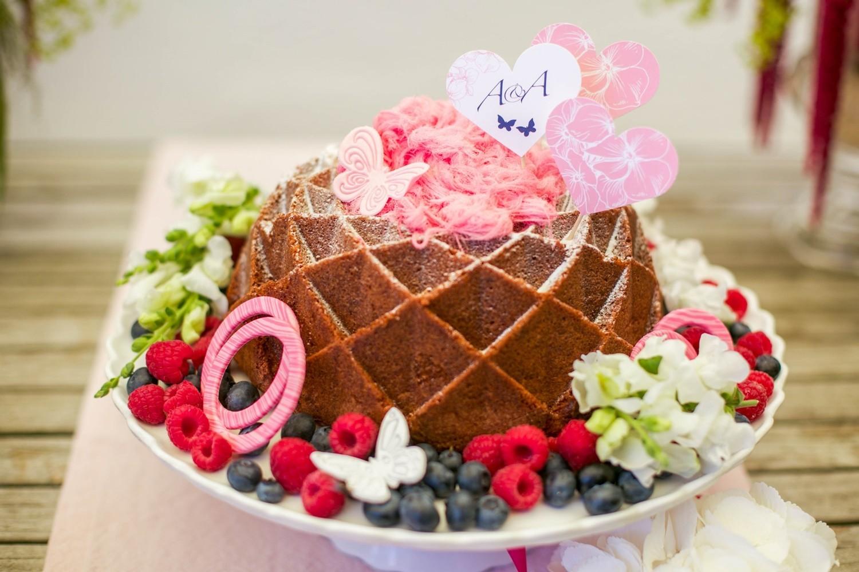Hochzeit Sweet Table Hochzeitstorte Gugelhupf
