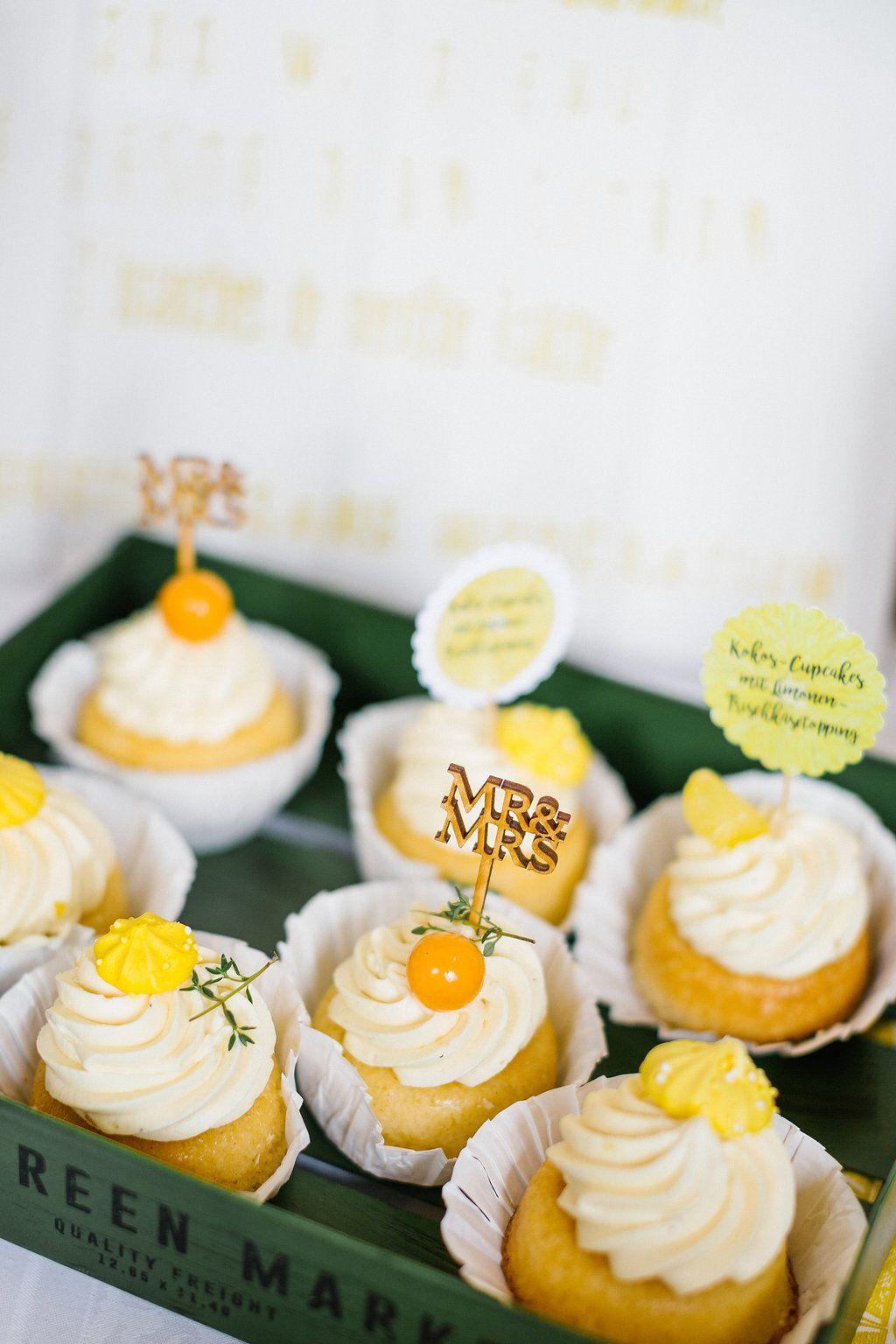cupcakes zitrone.gelb