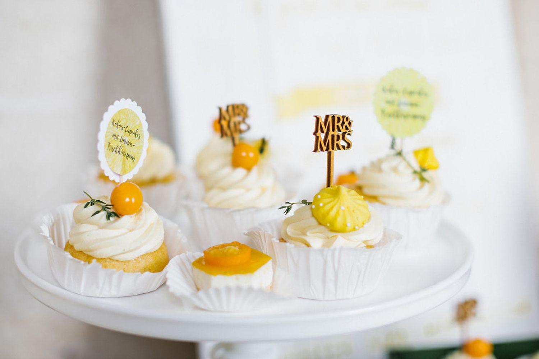 cupcakes zitrone