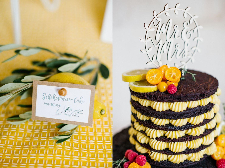 naked cake mango