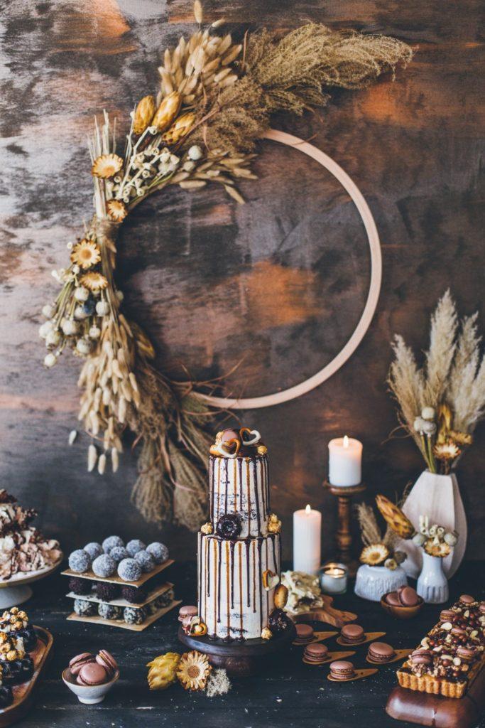 Hochzeitstorte-Winterhochzeit_schokolade_