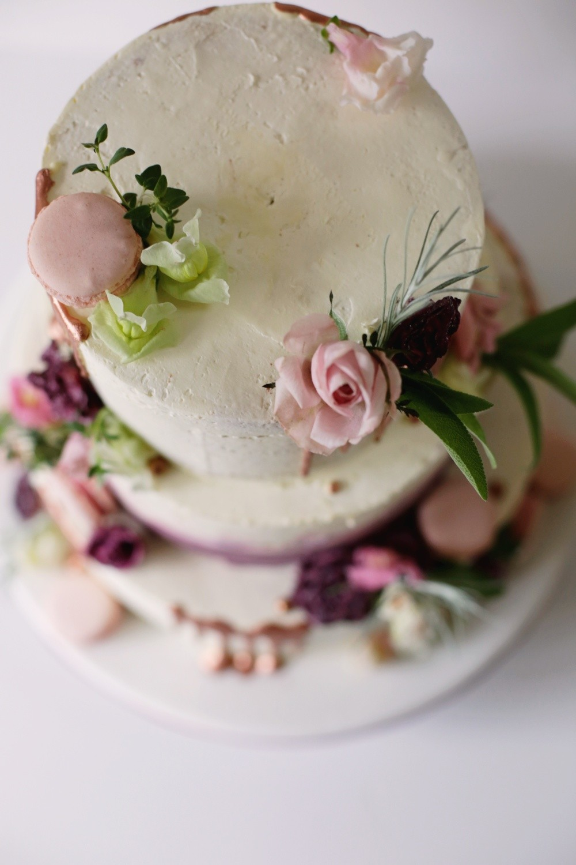 Dripped Cake-rosegold_Hochzeitstorte-