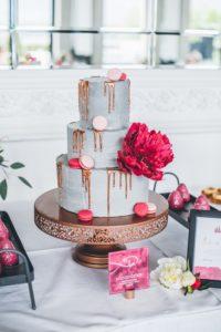 Concrete Cake als Hochzeitstorte