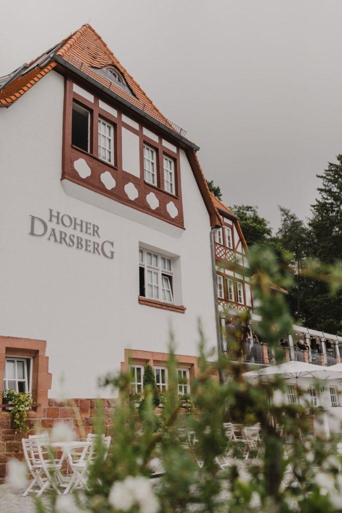 Eine Hochzeitslocation der Superlative Hoher Darsberg Neckarsteinach