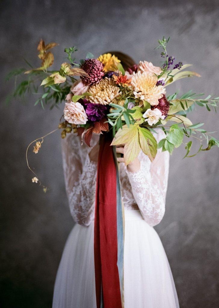 Brautstrauß -Herbst
