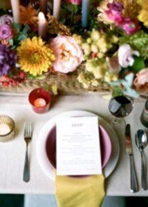 Hochzeitskonzept Herbst