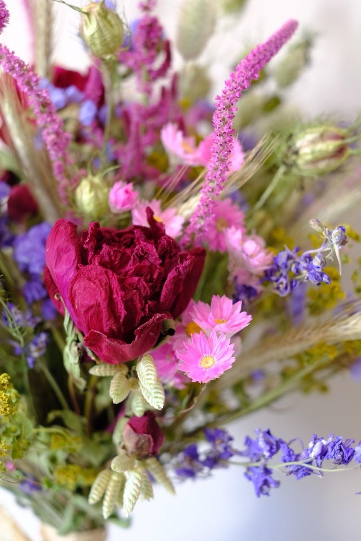 regionale Blumen-Slowflower-
