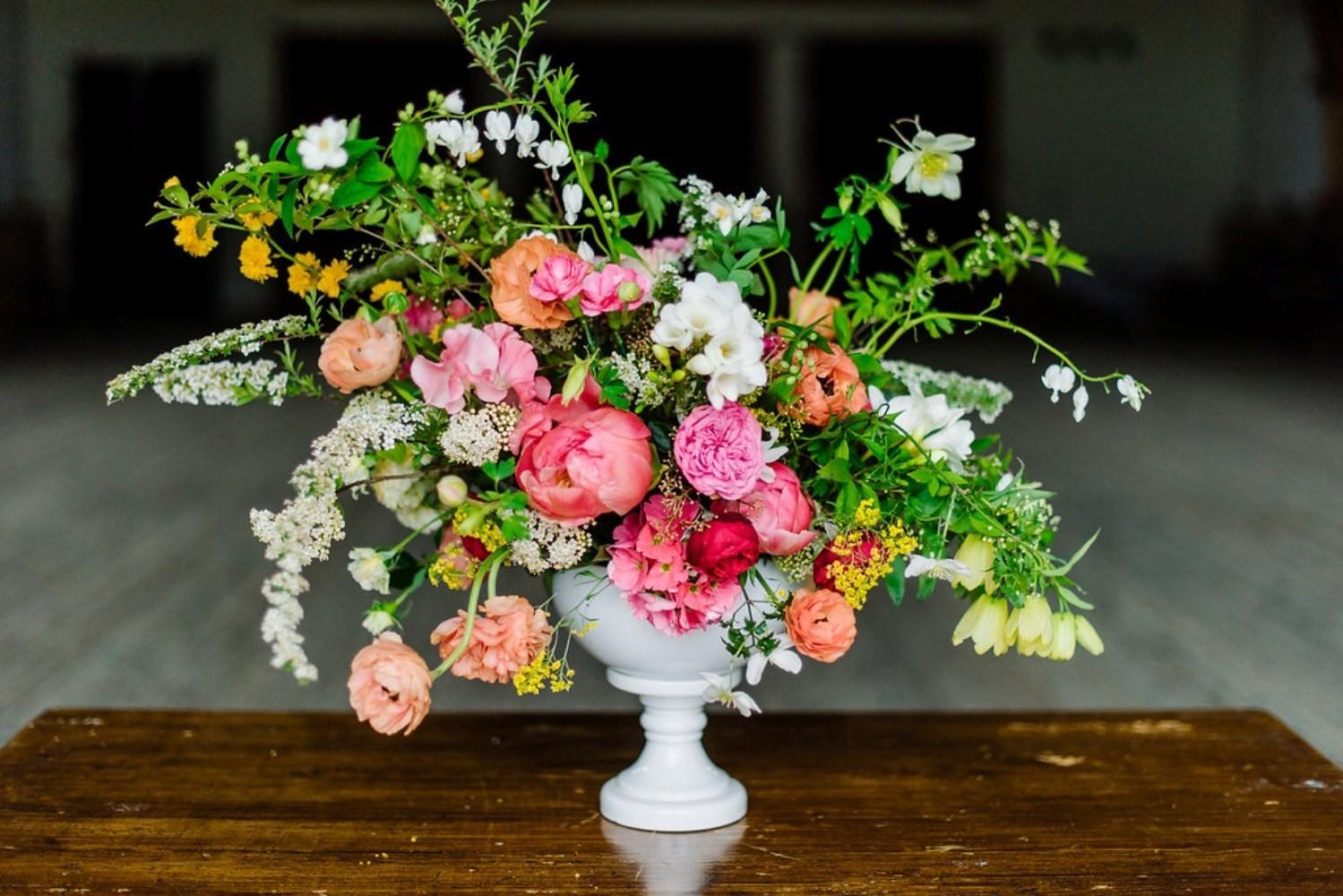 Stillleben regionale Blumen