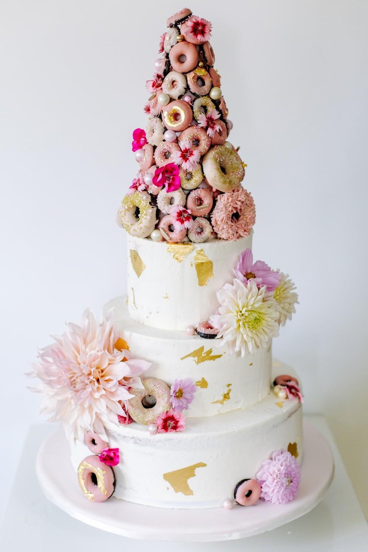 Hochzeitstorte-donuts-