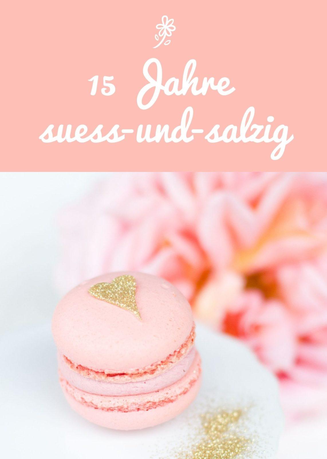 15 Jahre Torten-& Patisserservice suess-und-salzig
