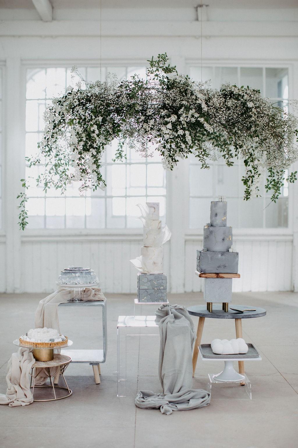 Sweet-table-puristisch-