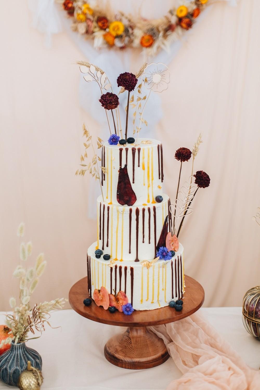 Hochzeitstorte-herbstlich-dekoriert-